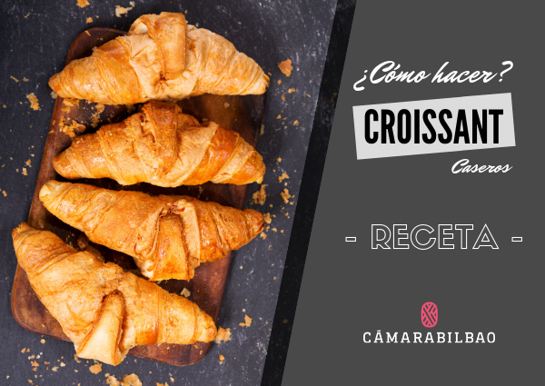 cómo hacer croissant caseros
