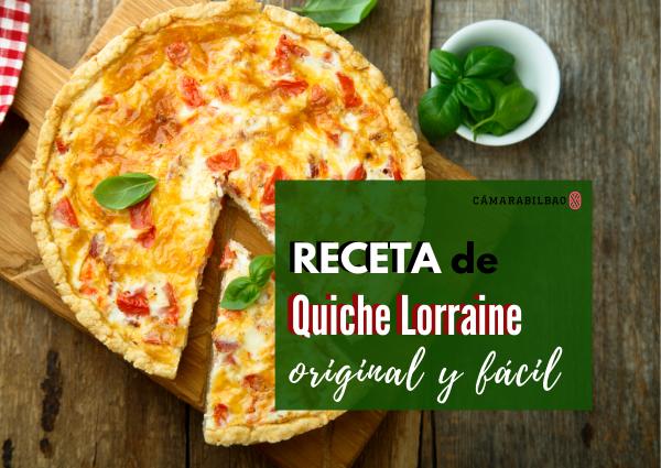 La mejor receta de Quiche Lorraine: original y fácil