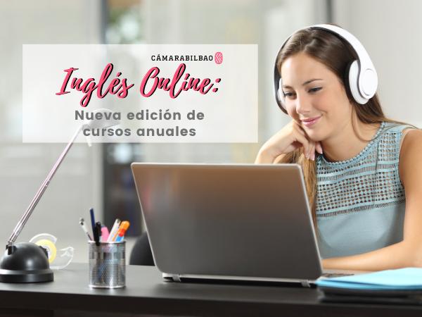 Inglés online: Nueva edición de cursos anuales